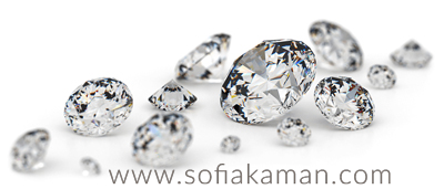 April Birthstone - Brilliant Cut Diamonds