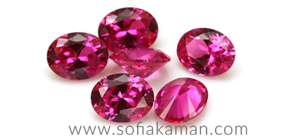 July Birthstone - Cut Rubies