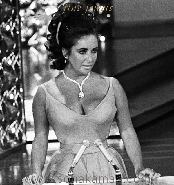 Taylor-Burton Pear Shaped Diamond worn by Elizabeth Taylor