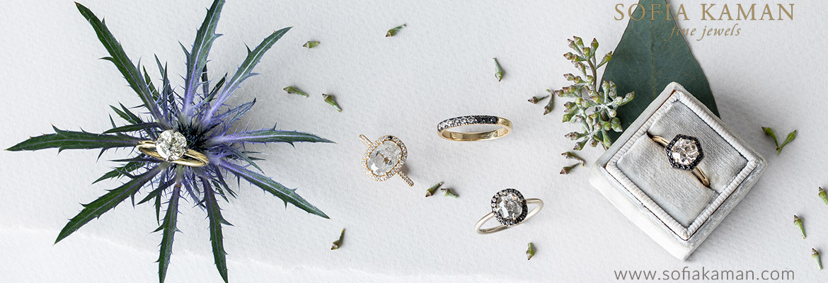 Unique Engagement Rings with a Rocking Tradition by Sofia Kaman