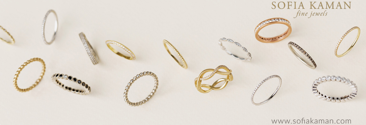 Sofia Kaman Eternity Bands