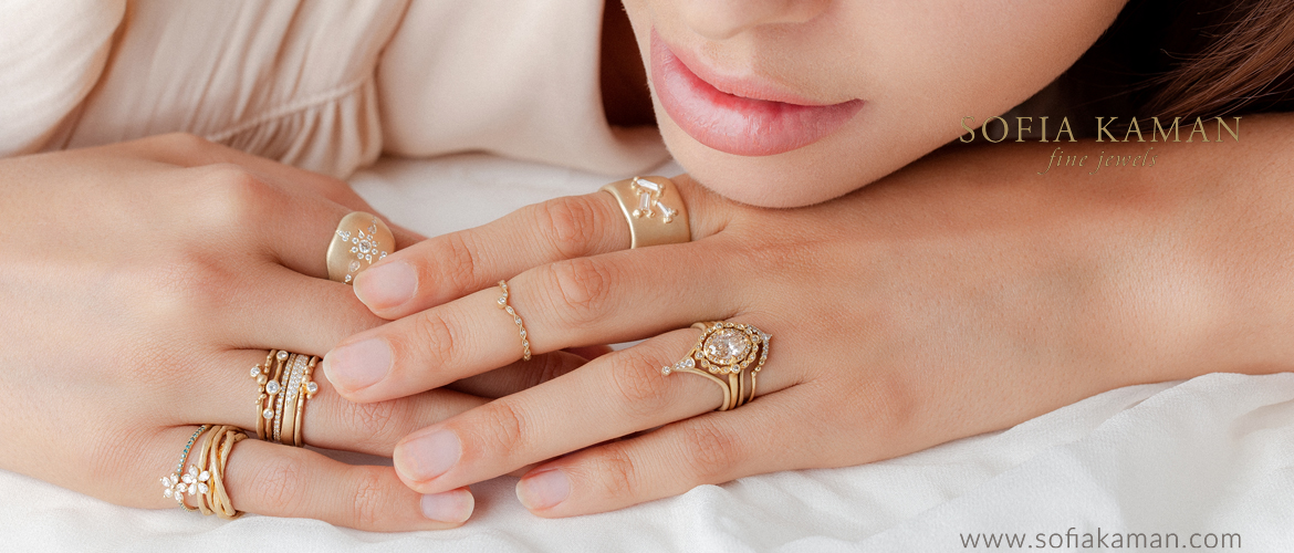 Sofia Kaman Signature Collection Rings