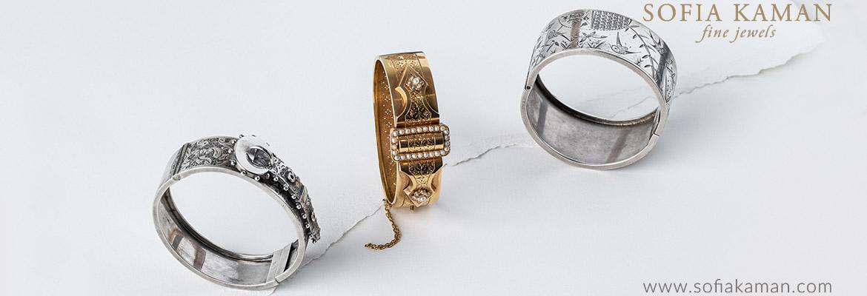 Sofia Kaman Curated Vintage Bracelets