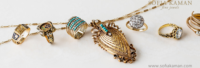 Sofia Kaman Vintage Jewelry