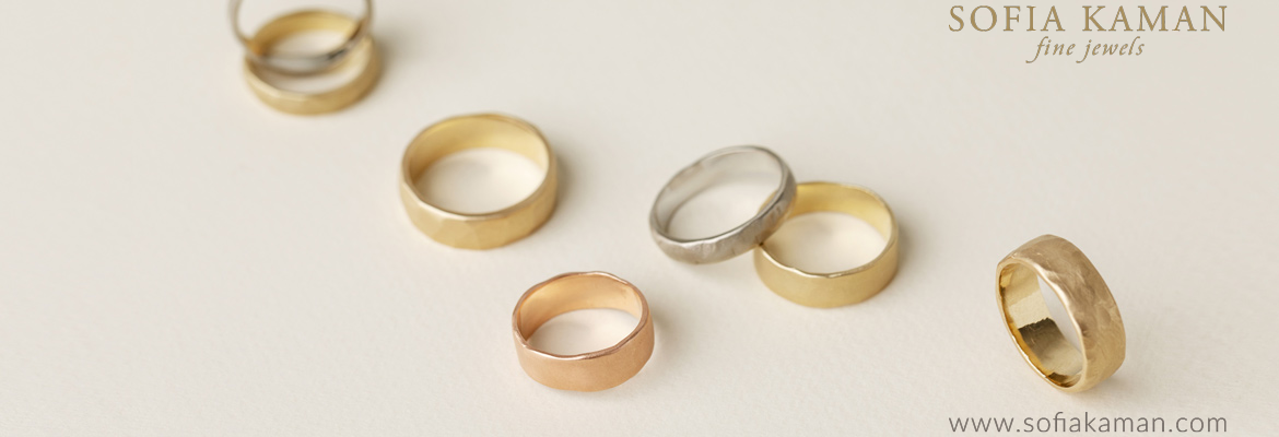 Sofia Kaman's Wedding Bands for Men