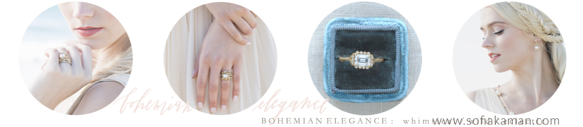 Boho Engagement Rings