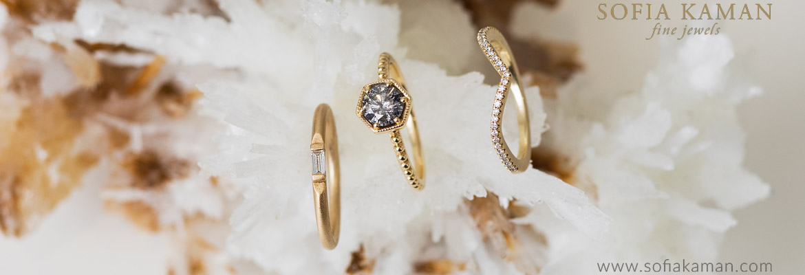 Sofia Kaman's Bridal One of a Kind Engagement Rings
