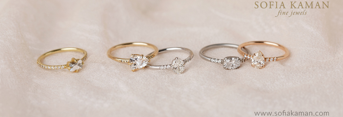 Sofia Kaman Solitaire Engagement Rings