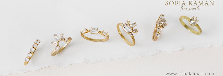 Sofia Kaman Sunrise Engagement Rings