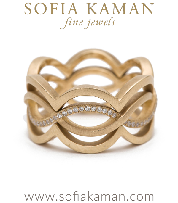 Eternity Bandsinfinity Ring With Diamond Accents