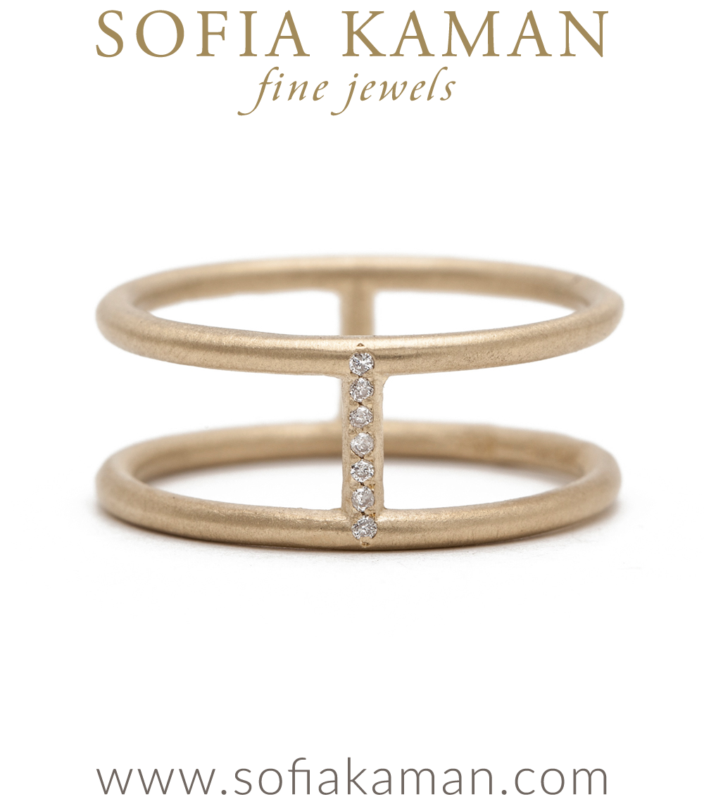 gold ring conn diamond double petite pin band opal rings luna skye samantha triangle and by