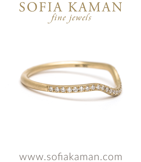 Sofia Kaman Boho Stacking Wedding Band