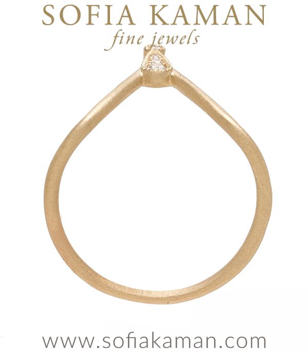 Bohemian Bridal Stacking Ring