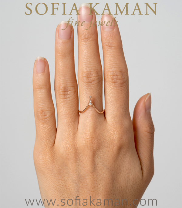 Stacking Ring For Unique Engagement Rings