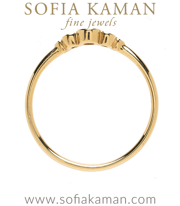 Sofia Kaman Nesting Wedding Band