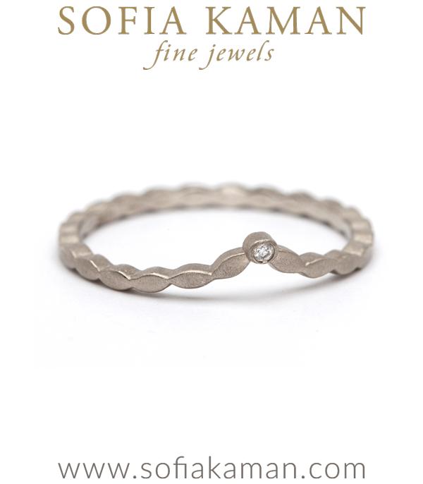 Small Leafy Tiara Ring