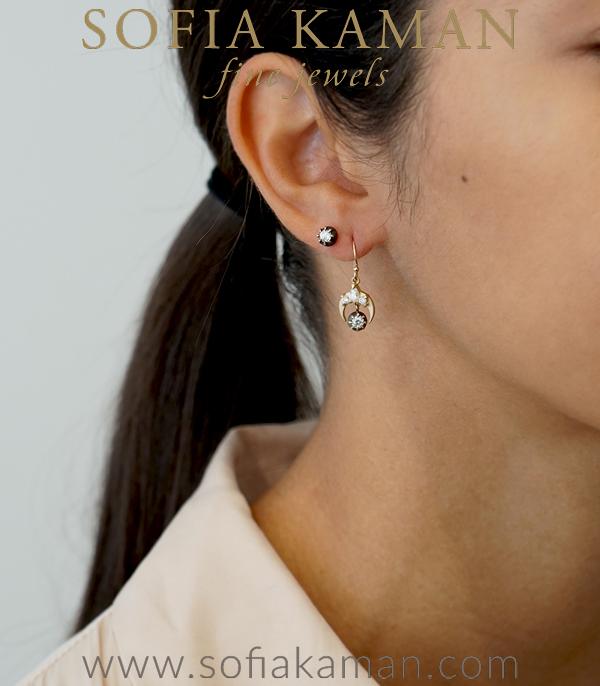 Bohemian Bridal Earrings For Unique Engagement Rings