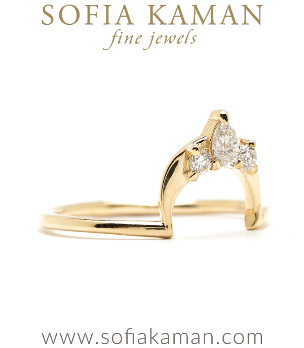 Engagement Ring Stacking Band