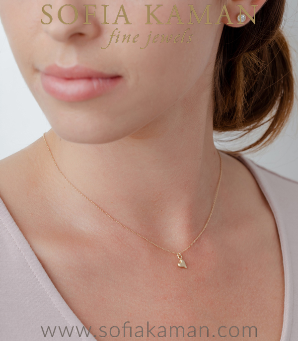 Necklace For Unique Engagement Ring