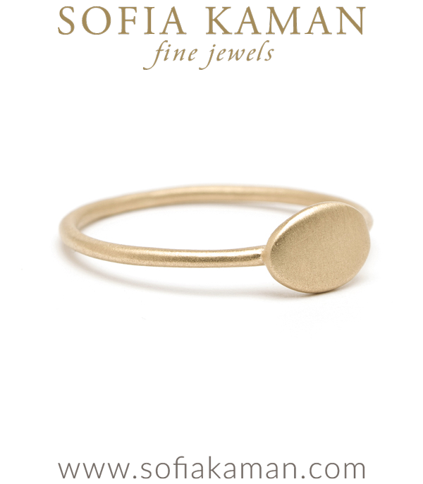 Sofia Kaman Egravable Charm Ring
