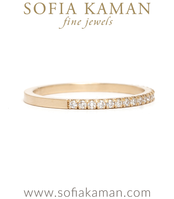 Gold Half Eternity Band