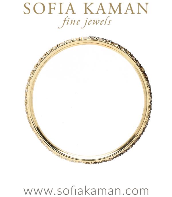 Eternity Band For Boho Engagement Rings