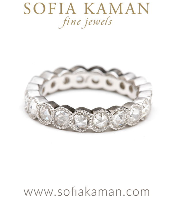 si work carat diamond in arria tw g i bezel milgrain set k eternity band jp bands h gold white