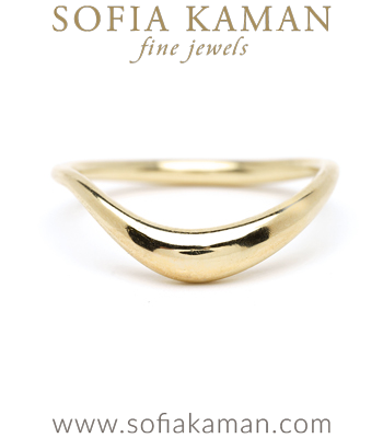 Small Melt Ring for Organic Engagement Rings designed by Sofia Kaman handmade in Los Angeles