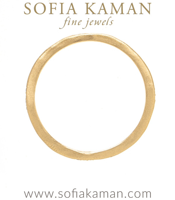 14k Gold Boho Stacking Ring