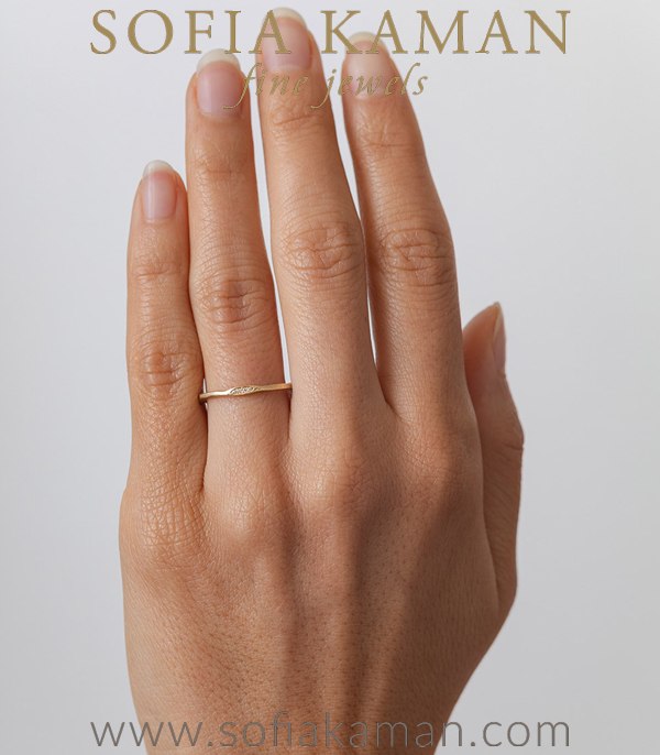 Sofia Kaman Unique Stacking Ring