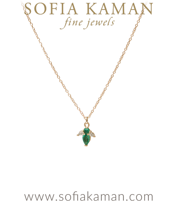 pear necklace from china product com emerald diamond discount dhgate and round marquis