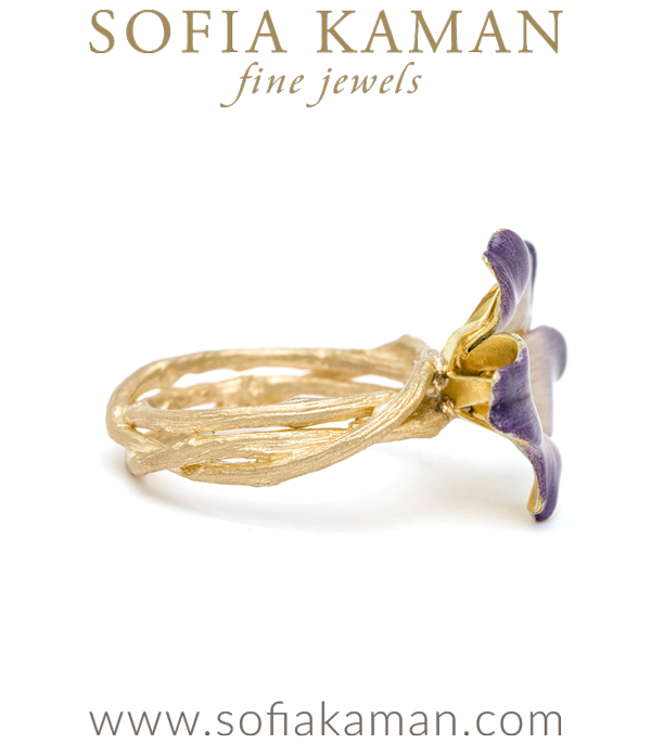 Violet Stacking Ring By Sofia Kaman