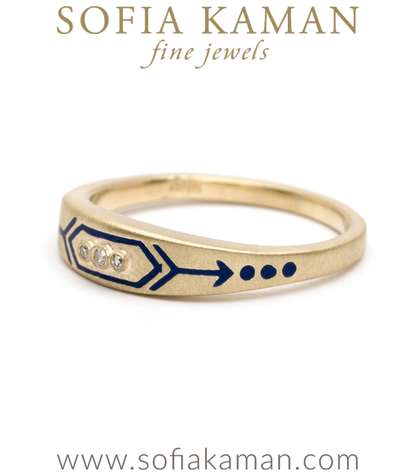 Victorian Inspired Stacking Ring