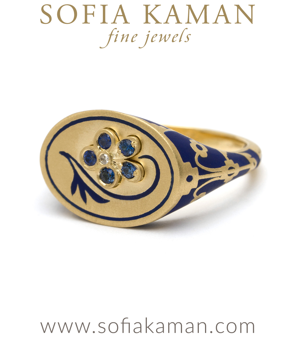 cocktail semi ring jewellery navy precious rings shop
