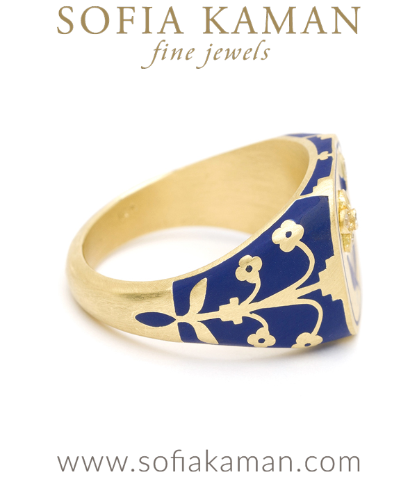 Sofia Kaman Signet Ring
