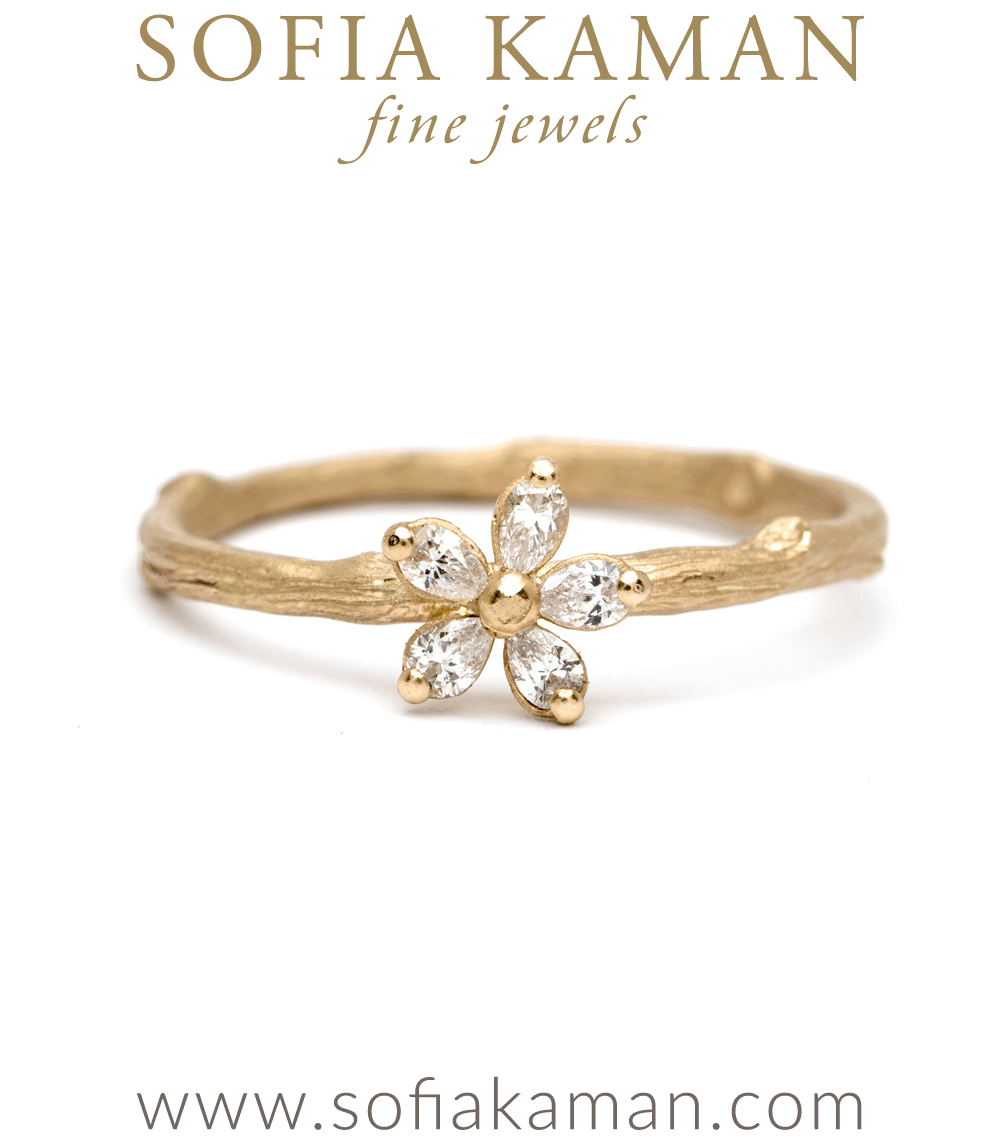 bezels milgrain watch rings with daisy diamonds white cut gold ring rose engagement