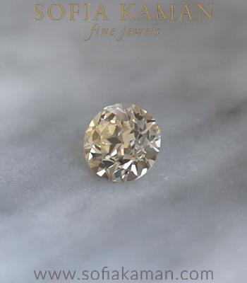 Old European Cut Diamond 3.01 ct. designed by Sofia Kaman handmade in Los Angeles