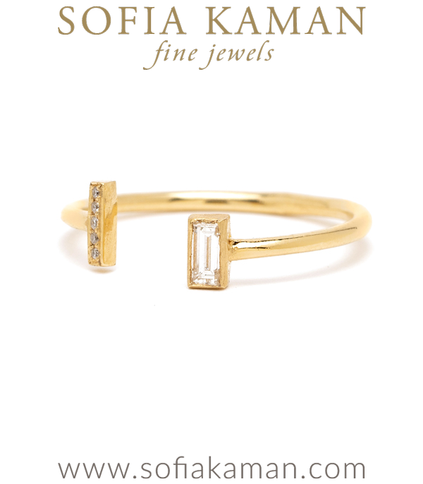 Sofia Kaman Adjustable Bohemian Stacking Ring