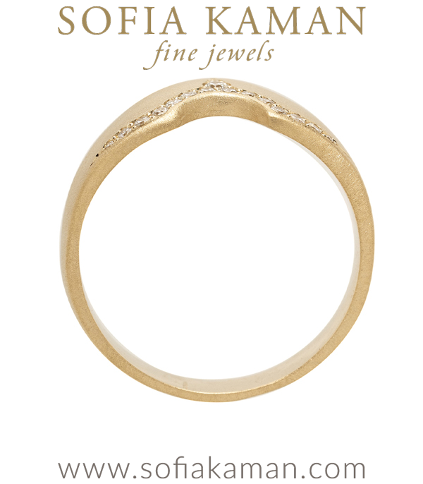 Nesting Band For Unique Engagement Rings