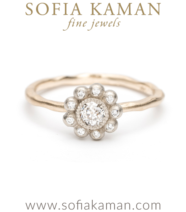Flower Cluster Ring Petite 1.8ct