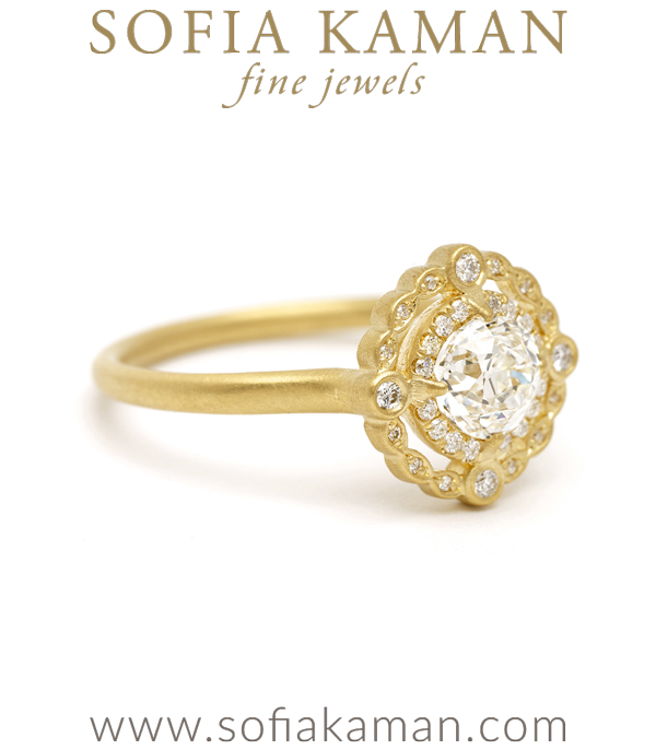 Sofia Kaman Bohemian Engagement Ring