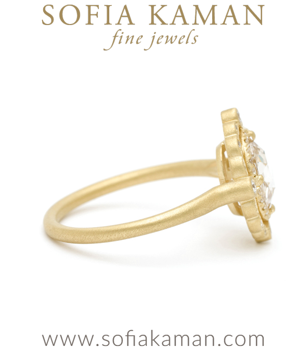 Vintage Inspired Wedding Ring By Sofia Kaman