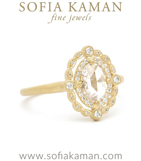Bohemain Engagement Ring