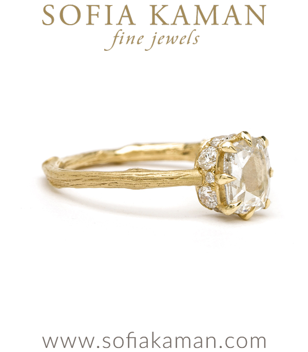 Bohemian Engagement Ring By Sofia Kaman