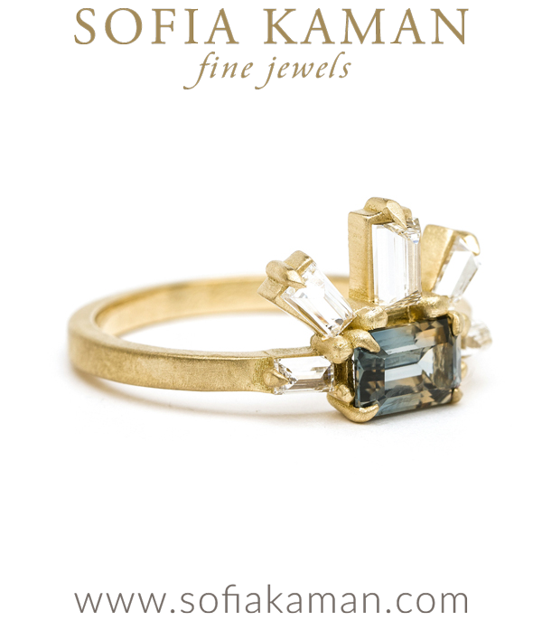 One Of A Kind Engagement Ring By Sofia Kaman