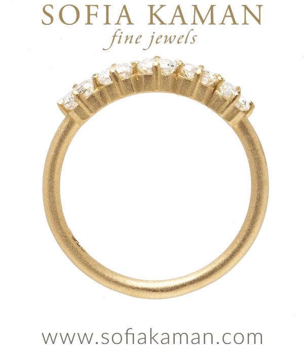 Unique Engagement Ring With Baguette Diamonds