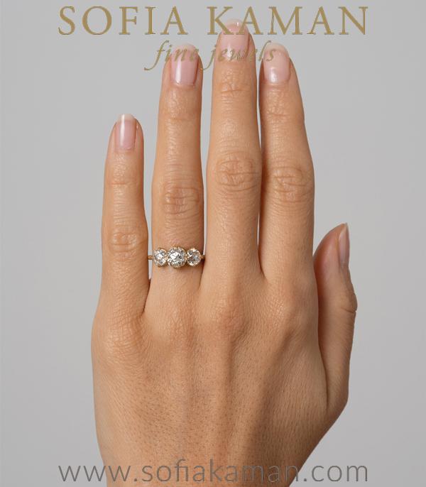 Sofia Kaman Unique Engagement Ring