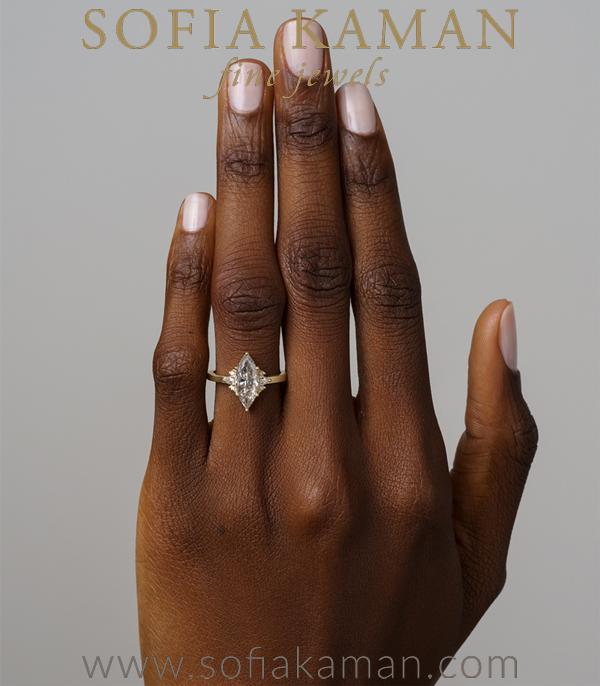 Boho Engagement Ring