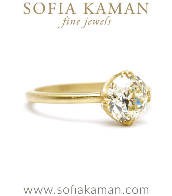 Sofia Kaman One Of A Kind Engagement Ring