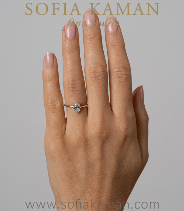 Non Traditional Engagemen Ring